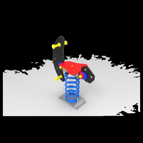 Muelle Simple Moto Espacial