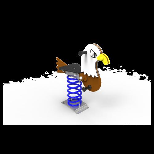Muelle Simple Águila Salvaje