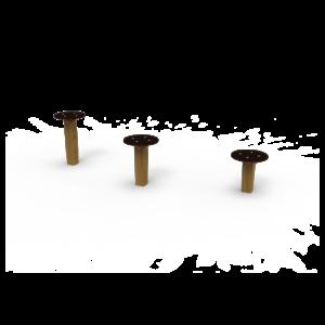 Circuito de Gimnasia Salto Equilibrio