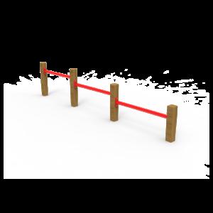 Circuito de Gimnasia Flexiones Triples