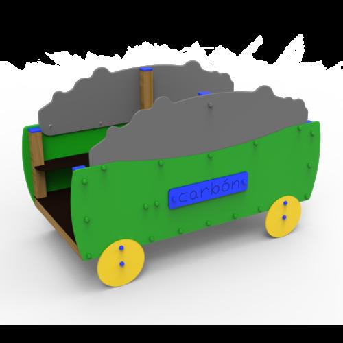 Conjuntos Guardería Vagón Sin Tobogán