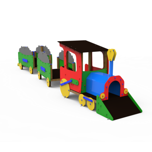 Conjuntos Guardería Tren Minero Completo