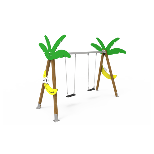 Columpio Biplaza Plátano