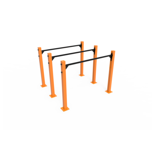 Calistenia Módulos Barra 1200 Triples