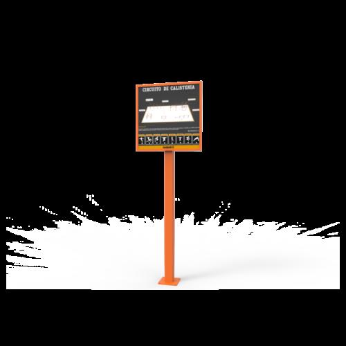 Calistenia Módulos Cartel Informativo