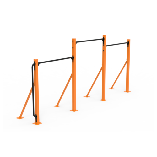 Calistenia Módulos Barras Dominadas 3 Alturas