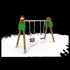 Columpio Biplaza Mono