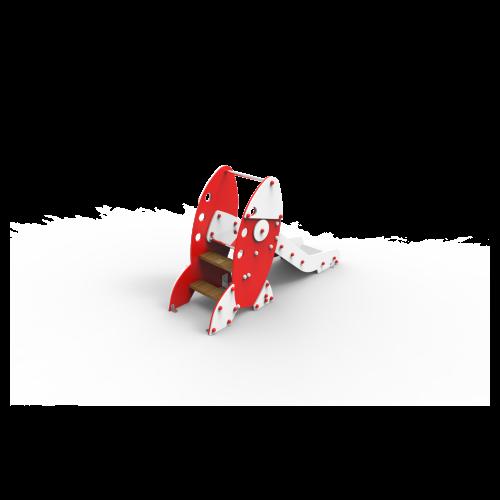 Toboganes Mini Cohete Baby