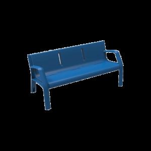 Mobiliario Urbano Banco Alvium Azul