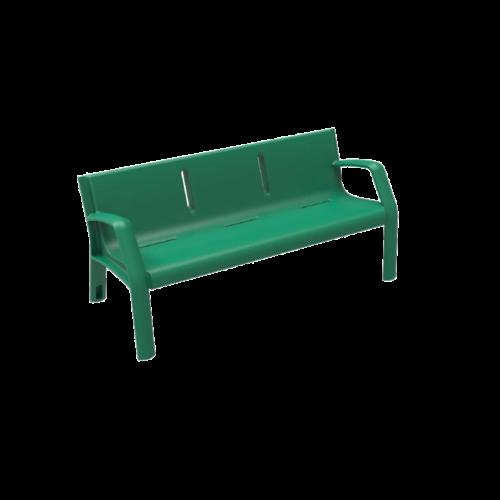 Mobiliario Urbano Banco Alvium Verde