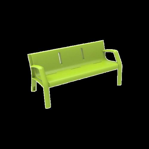 Mobiliario Urbano Banco Alvium Verde Claro