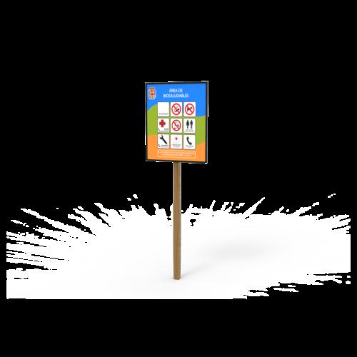 Mobiliario Urbano Cartel Informativo 100x120