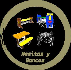 Mesitas y bancos