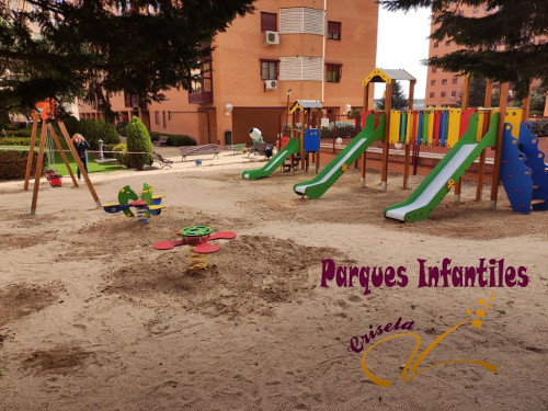 Parque Infantil Comunidad Propietarios Madrid