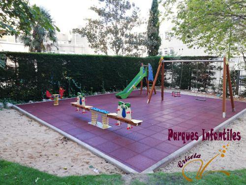 Parque Infantil Comunidad Vecinos Madrid