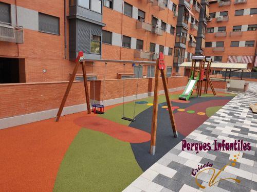 Parque Infantil Caucho Continuo Madrid