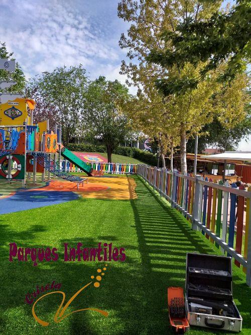 Parque Infantil Zaratán Valladolid