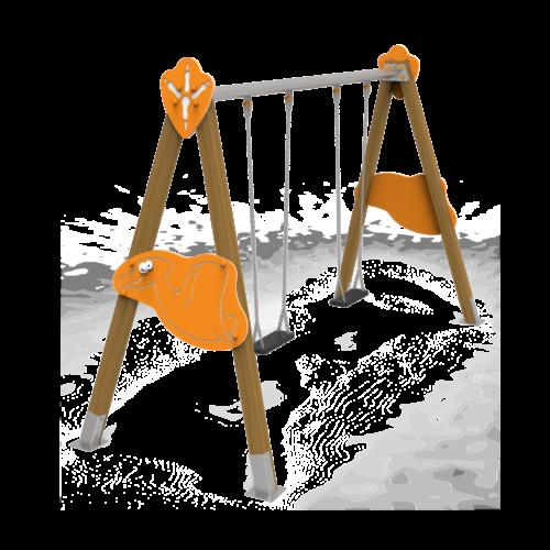 Columpio Volador asientos planos